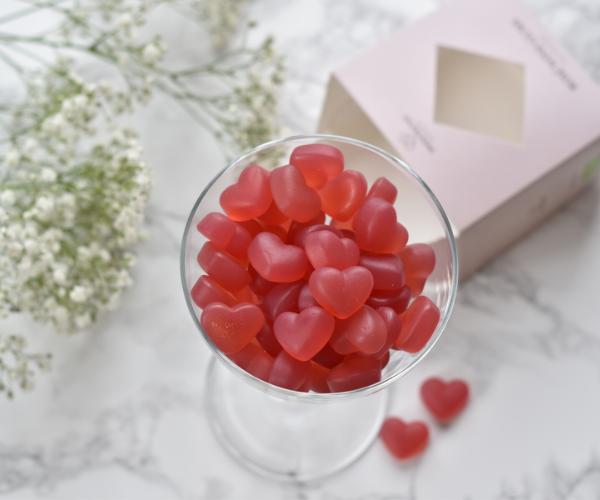 Sweetkynd Hindbær rosé vingummi