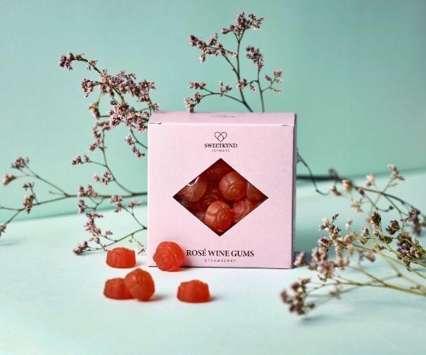 Sweetkynd Jordbær rosévingummi