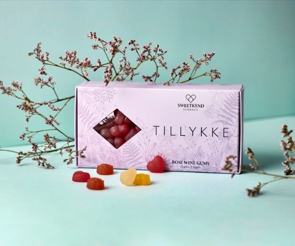 Sweetkynd TILLYKKE gaveaeske