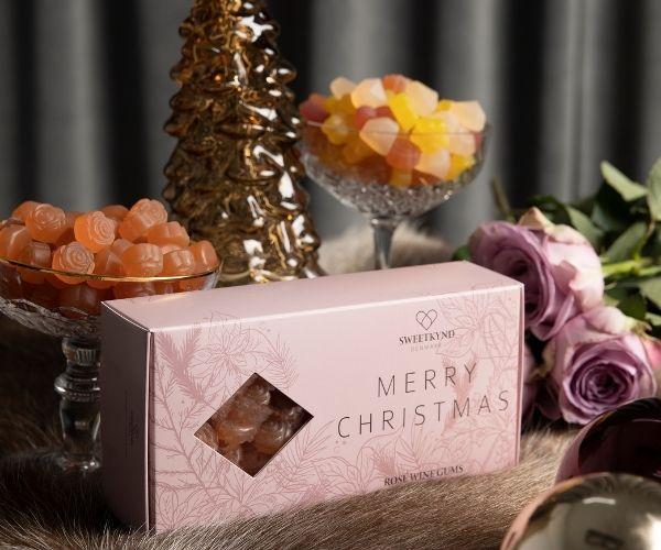 Sweetkynd Merry Christmas Rosé wine gums