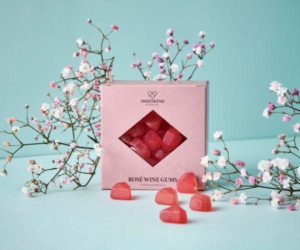 Sweetkynd Granatæble rosé vingummi